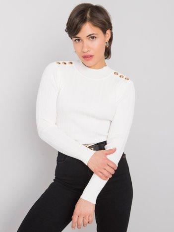 Biały sweter Millah