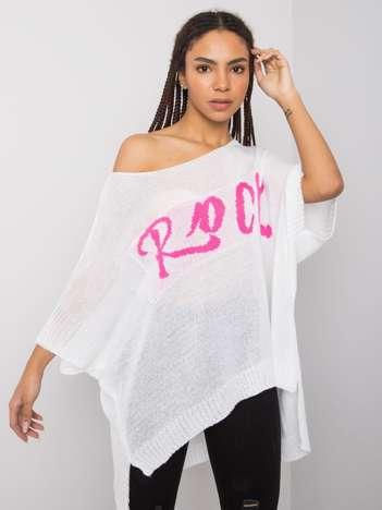 Biały sweter oversize Thea