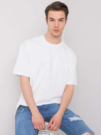 Biały t-shirt męski bawełniany Archer LIWALI
