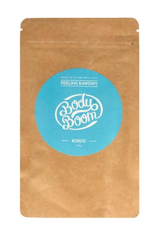 Bielenda Body Boom Peeling kawowy do ciała - Kokos 100 g