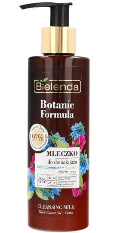 Bielenda Botanic Formula Olej z Czarnuszki+Czystek Mleczko do demakijażu 200ml