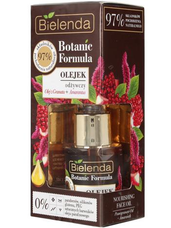 Bielenda Botanic Formula Olej z Granatu+Amarantus Olejek odżywczy do twarzy 15ml