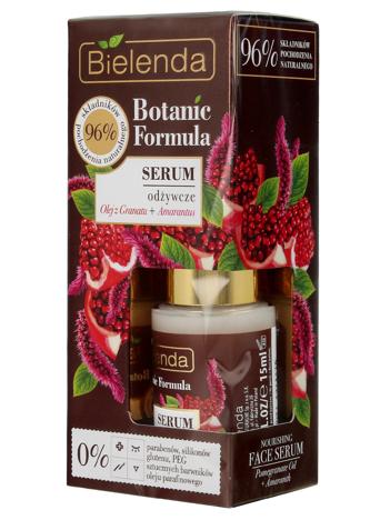 Bielenda Botanic Formula Olej z Granatu+Amarantus Serum odżywcze na dzień i noc 15ml