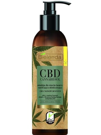 Bielenda CBD Cannabidiol Emulsja do mycia twarzy nawilżająco-detoksykująca 150 g