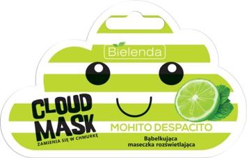 """Bielenda Cloud Mask Bąbelkująca Maseczka rozświetlająca Mohito Despacito  6g"""""""