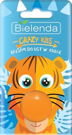 Bielenda Crazy Kiss Balsam do ust w kulce Tygrys 8.5g