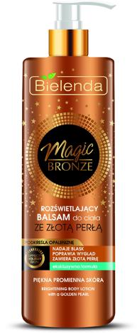 Bielenda Magic Bronze Rozświetlający Balsam do ciała ze złotą perłą 250 ml