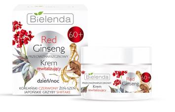 Bielenda Red Ginseng 60+ Przeciwzmarszczkowy Krem rewitalizujący na dzień i noc 50 ml