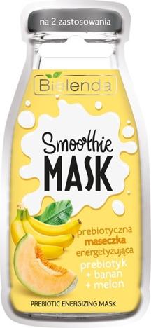 Bielenda Smoothie Care Prebiotyczna Maseczka na twarz energetyzująca - Banan i Melon 10g