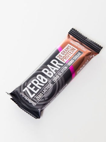 BioTech Baton Zero Bar chocolate - plum 50g