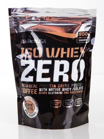 BioTech - Odżywka białkowa Iso Whey Zero - 500g Caffe latte