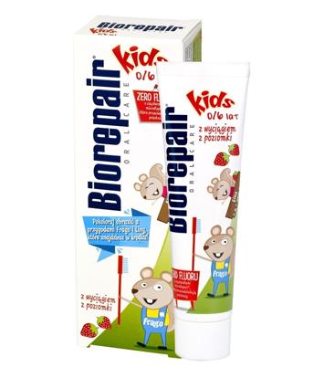 "Biorepair Oral Care Pasta do zębów Kids-Poziomka 0-6  50ml"""