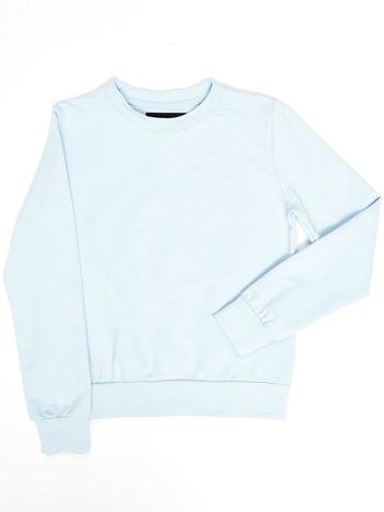 Błękitna bluza młodzieżowa