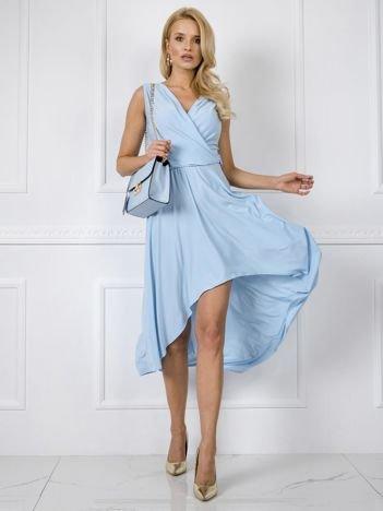 Błękitna sukienka Tess