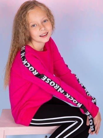 Bluza dla dziewczynki różowa