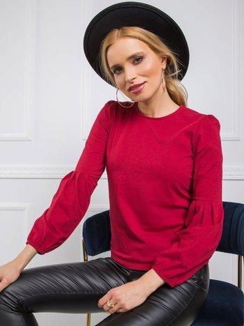 Bordowa bluzka Kellie