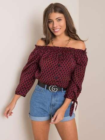 Bordowa bluzka Madison SUBLEVEL
