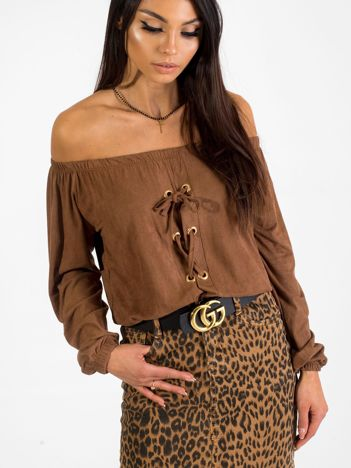 Brązowa bluzka Paloma