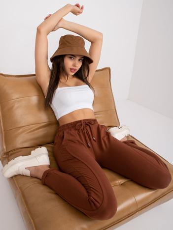 Brązowe spodnie Approachable