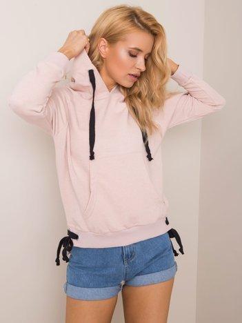 Brudnoróżowa bluza Cassie