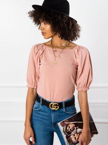Brudnoróżowa bluzka Elodie