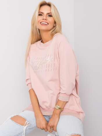 Brudnoróżowa bluzka Linda