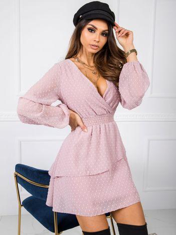 Brudnoróżowa sukienka Violette RUE PARIS