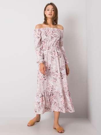 Brudnoróżowa sukienka hiszpanka Adaline RUE PARIS