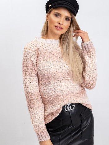 Brudnoróżowy sweter Agatha