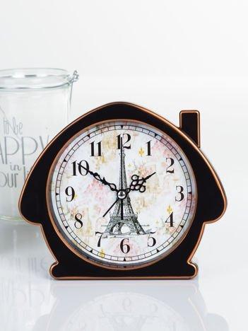 Budzik PARIS RETRO- zegarek z Wieżą Eiffla na tarczy