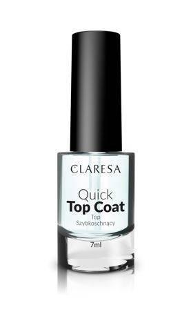 CLARESA Top szybkoschnący 7 ml