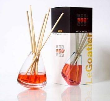 CLEM-GOA Dyfuzor zapachowy 360° 250 ml - Ambra z szfranem