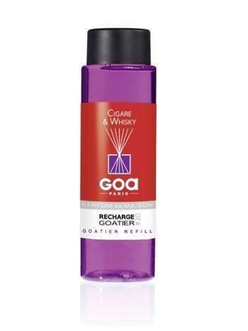CLEM-GOA Zapas do dyfuzora zapachowego  250 ml - Cygaro i Whisky