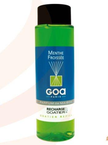 CLEM-GOA Zapas do dyfuzora zapachowego  250 ml - Liść mięty