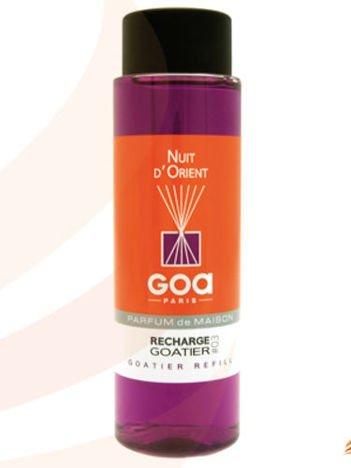 CLEM-GOA Zapas do dyfuzora zapachowego 250 ml - Noc Orientu