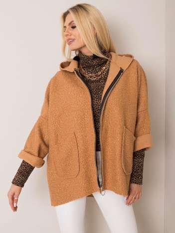 Camelowy płaszcz Morgan OCH BELLA