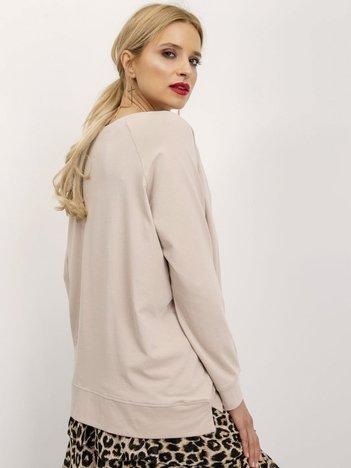 Ciemnobeżowa bluza Nadia