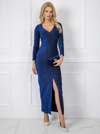 Ciemnoniebieska sukienka Kimberly