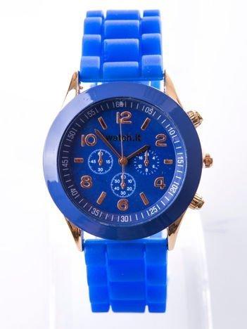 Ciemnoniebieski damski zegarek