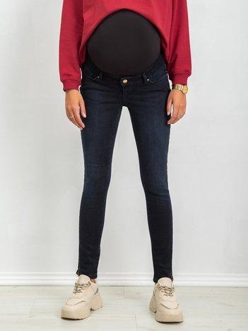 Ciemnoniebieskie jeansy Sole