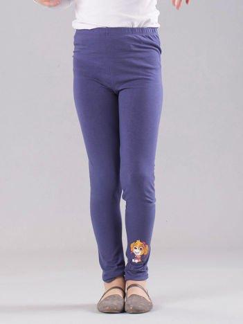 Ciemnoniebieskie legginsy dziewczęce PSI PATROL