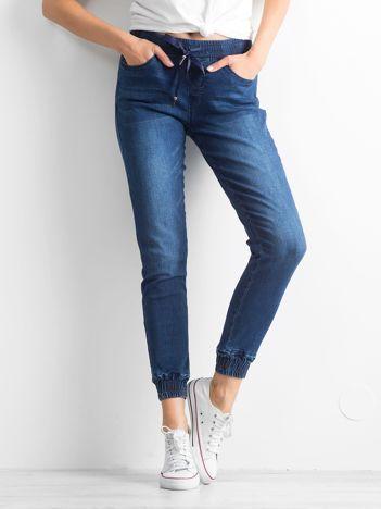 Ciemnoniebieskie spodnie Curious