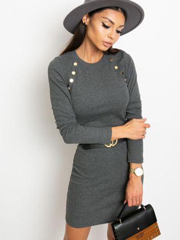 Ciemnoszara sukienka Desirable