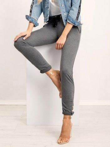 Ciemnoszare spodnie Best