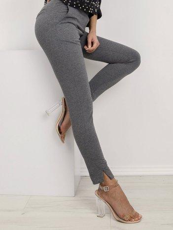 Ciemnoszare spodnie Nina