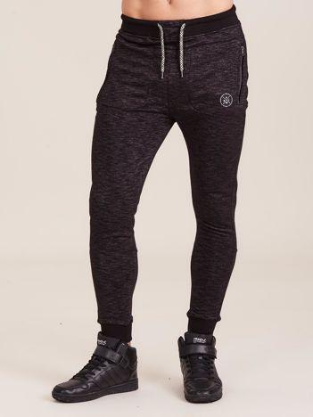 Ciemnoszare spodnie dresowe dla mężczyzny