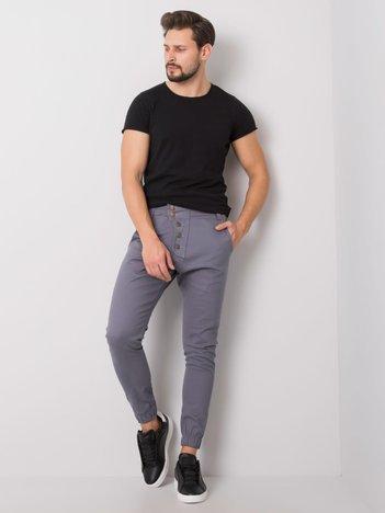 Ciemnoszare spodnie męskie Tony