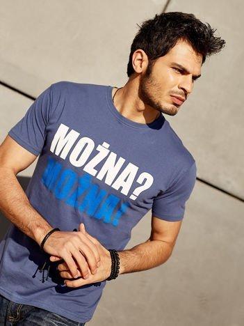 Ciemnoszary t-shirt męski MOŻNA? MOŻNA!