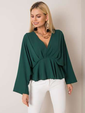 Ciemnozielona bluzka Raquela