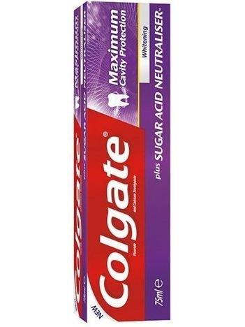 Colgate Pasta do zębów Maximum Cavity Protection Whitening 75 ml